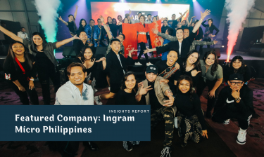 Jiving with Hope and Happiness:Ingram Micro Philippines